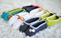 All About Ami - Crochet Slippers Part 2
