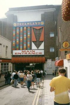 Dreamland Theme Park Margate Kent England