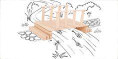 Activities For Kids - Super Strong Structures Bridge - Micador