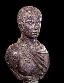 Constantine II, the 60th Roman Emperor, reigned from  from 337 to 340. He was co-emperor alongside his brothers Constantius II and Constans in an empire again divided into sections, one for each brother. The sons of Constantine the Great, however, soon became rivals for power. Constantine II was killed by forces of his youngest brother, Constans, in 240. Constans then claimed the lands previously ruled by Constantine I.