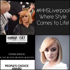 Less than 24hours to vote guys! If you haven't voted yet, now is the time. Help us win the #LCT15 people's choice award! http://www.lorealcolourtrophy.com/PeoplesChoice/harrison-hair-studio.aspx