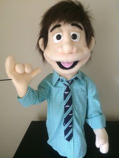 Custom Made Professional People Puppet Boy / by ThePuppetWorkshop