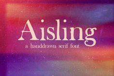 Aisling Serif Free Font « Freebies PSD