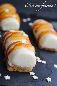 C'est ma fournée !: Mini-bûches poires-spéculoos-caramel