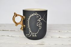 Große Tasse - Monster Matthias von COCO ceramics auf DaWanda.com