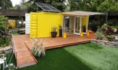 Our list features five sexy and affordable prefab starter homes and granny pads. We also included need-to-know facts about prefabricated dwellings.: This Prefab Was Once a Shipping Container