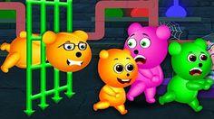 Mega Mutant Gummy Bear (spider) Finger family Collection | Lollipop Gummy Bear + more - YouTube