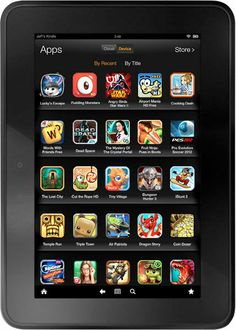 Great Kindle Fire app resources including the best apps to