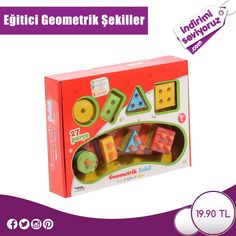 Çocuklarınızın zihinsel ve bilişsel gelişimine katkı sağlayacak bu oyuncağa sahip olmak için; https://www.indirimiseviyoruz.com/egitici-geometrik-sekiller-urun1490.html #indirimiseviyoruz #indirim #fırsat #anne #çocuk #oyuncak