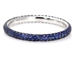 sapphire eternity band, great for stacking with your engagement ring or just stacking .. lol