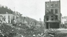Duitse onderwerping van Dinant gebeurt erg brutaal. Op 23 augustus breekt de hel los.n totaal worden in Dinant 674 burgers vermoord, bijna 10% van de bevolking. Onder hen zijn 26 bejaarde mannen, maar ook 76 vrouwen en 37 kinderen. De drie weken oude baby Félix Fivet wordt met een bajonet gedood.
