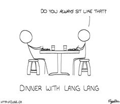 Dinner with Lang-Lang!