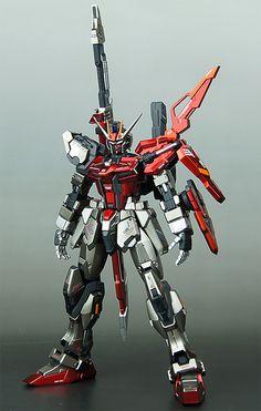 GUNDAM GUY: 1/100 Sword Strike Gundam - Painted Build