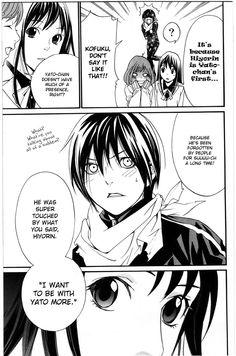 Noragami Forever page 39 Anime Noragami, Manga Anime, Yato And Hiyori, Manhwa Manga, Anime Art, Yatori, Online Manga, Romance, Fujoshi