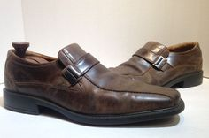 Ecco Brown Mens Slip On Shoes Size 46 #ECCO #LoafersSlipOns #Casual