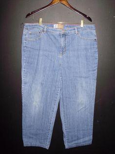 1c8a0fae9f0 JMS Classic Size 20 Short Womens Blue Denim Jeans Stretch Cotton Spandex   JMS  BootCut
