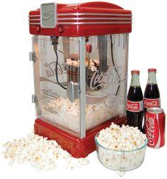 Retro popcorn maker