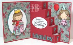 Birthday created by Frances Byrne using Create a Card 10 - Crealies; Alphabet 1 Caps - Elizabeth Craft Designs; Birthday Wonderful Words - Papertrey Ink; Circle Stax; Oval Stax; Fishtail Flags Stax - MFT Stamps. Stamps from Penny Black