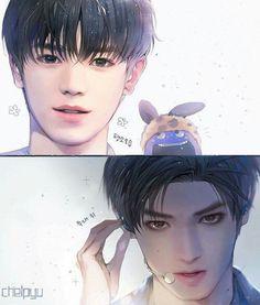 Chelpyu nim's fanart of Taeyong K Pop, Nct 127, Zen, Boy Illustration, Kpop Drawings, Korean Art, Nct Taeyong, Fan Art, Kpop Fanart