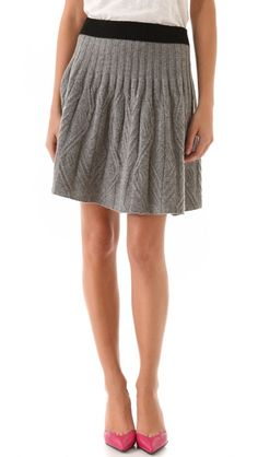 And a sweater skirt!Marc by Marc Jacobs Sweater Skirt Sweater Skirt, Knit Skirt, Skirt Pants, Knit Dress, Dress Skirt, Grey Sweater, I Love Fashion, Passion For Fashion, Pullover Rock