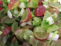 grape salsa. Sounds