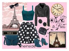 """Meet me in Paris"" by tanja133 ❤ liked on Polyvore featuring Alysia Thomas, Spicher and Company, WallPops, Element, Cesare Paciotti, The Sak, Glamorous, ABS by Allen Schwartz and Kendra Scott"