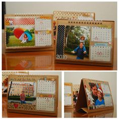 need to remember this for gifts--easy to make calendars