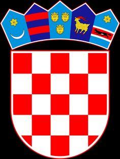 Shop Coat of arms of Croatia, Croatian Emblem, Hrvatska Mouse Pad created by TheKeepCalmStore. Croatian Tattoo, Croatia Map, Bósnia E Herzegovina, National Animal, Central Europe, Dubrovnik, Montenegro, Coat Of Arms, Herb