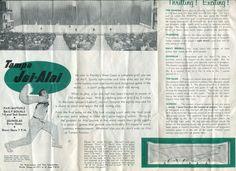 1960 Tampa Jai Alai Vintage Brochure Beautiful Classic 50 Years Old | eBay