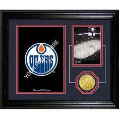 Edmonton Oilers NHL Edmonton Oilers Framed Memories Desktop Photo Mint
