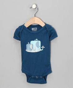 Galaxy The Elefunts Organic Short-Sleeve Bodysuit - Infant