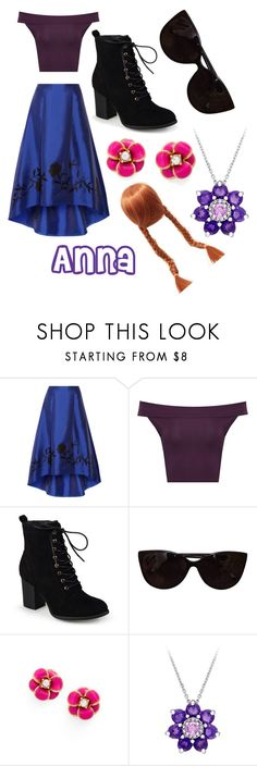 """Anna"" by methebault ❤ liked on Polyvore featuring NOIR Sachin + Babi, WearAll, Journee Collection, Tiffany & Co., Kate Spade and Laura Ashley"