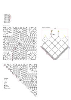 Crochet beach dress - pattern