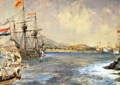 Op 26 november 1598 bereikte Jacob Cornelis van Neck met acht VOC-schepen, de tweede Nederlandse expeditie naar Oost-Indië, Bantam.
