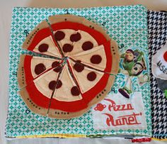 Nat Can Sew: Toy Story Quiet Book