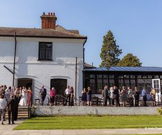 A truly stunning manor house wedding venue in rural Cambridgeshire, that's stylish, elegant, chic and just an hour from London. Beautiful Wedding Venues, Dolores Park, Around The Worlds, London, Mansions, House Styles, Travel, Reception, Drinks