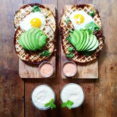 Waffled quesadillas!