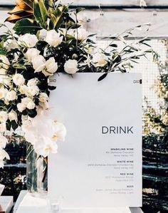 We're planning on having several drink choices at the cocktail reception with two signature cocktails. Outdoor Wedding Venues, Wedding Signage, Outdoor Ceremony, Trendy Wedding, Fall Wedding, Wedding Wall, Dream Wedding, Cocktail Wedding Reception, Minimalist Wedding Invitations