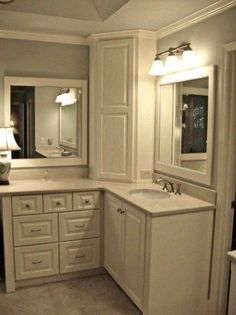 Bathroom Corner Cabinet Ideas Luxury 52 Simple but Modern Bathroom Storage Design Ideas
