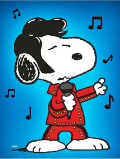 easter images Snoopy as Elvis