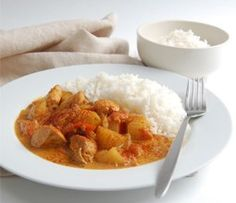 Chicken & Coconut Curry - The Resourceful Cook