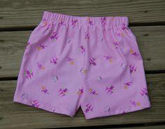 DIY Girls Fashion: How To Sew Shorts