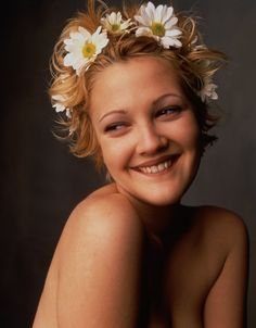 Drew Barrymore, for Rolling Stone Magazine (Photography by Mark Seliger) | 1994