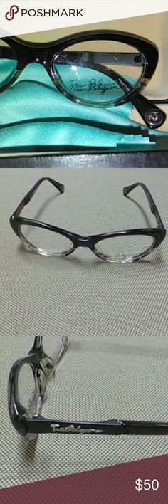 Nwb true frames Gorgeous frames brand new with box and cleaning cloth great symbols very noticeable that they are true religion True Religion Accessories Glasses