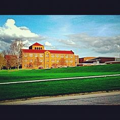 The Freeport Senior High School that I shot today on my bike ride. My mom graduated from here as well as my family! - @frankyboy1- #webstagram