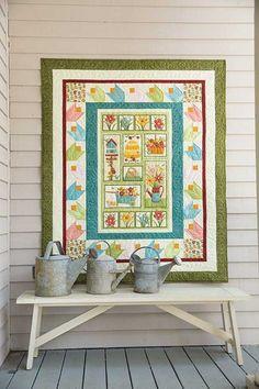 Tulip Garden Quilt Kit  | Keepsake Quilting