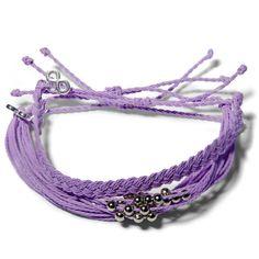 Sweet Lilac Set  - Weltfreund Armbänder