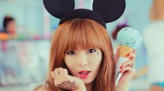 Kim Hyuna Ice Cream HD Wallpaper