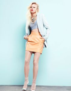 Lovisa Ekholm for Grazia Germany is pretty glorious as well, I need some more pastels in my wardrobe!