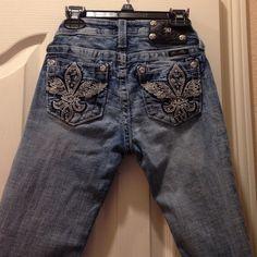 Long miss me shortsc Beautiful pockets  longer shorts -can be rolled up Miss Me Shorts Jean Shorts
